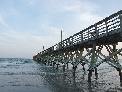 Thomas beach vacations top 5 places for family fun in for Cherry grove pier fishing report