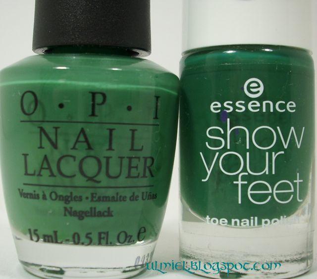 Did someone say nail polish?: Comparison: O.P.I. Jade Is The New ...