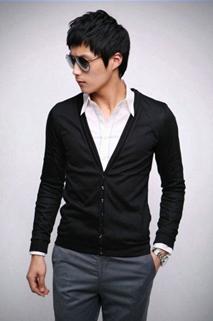 Men 39 S Fashion Fashion Cardigan Korea Untuk Pria