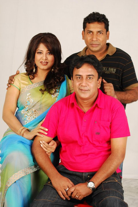 Moushumi, Musharof karim and Jahid hasan