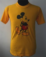 vintage Mickey Mouse 50/50