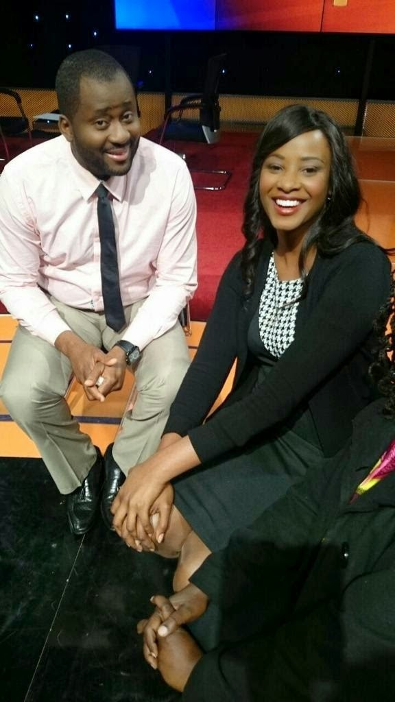 PHOTO!! Nigeria's DESMOND ELLIOT having a great time with ...