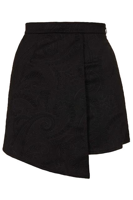 black skorts