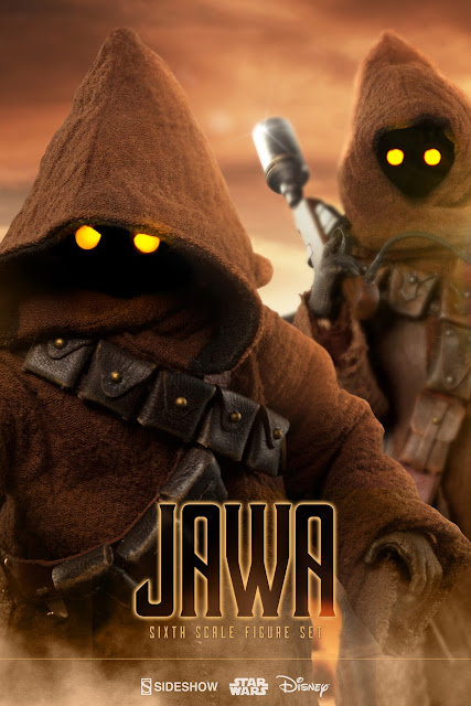 Jawa Sixth Scale Figure Set from Sideshow Collectibles
