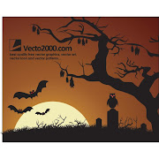 4. Free Halloween night background