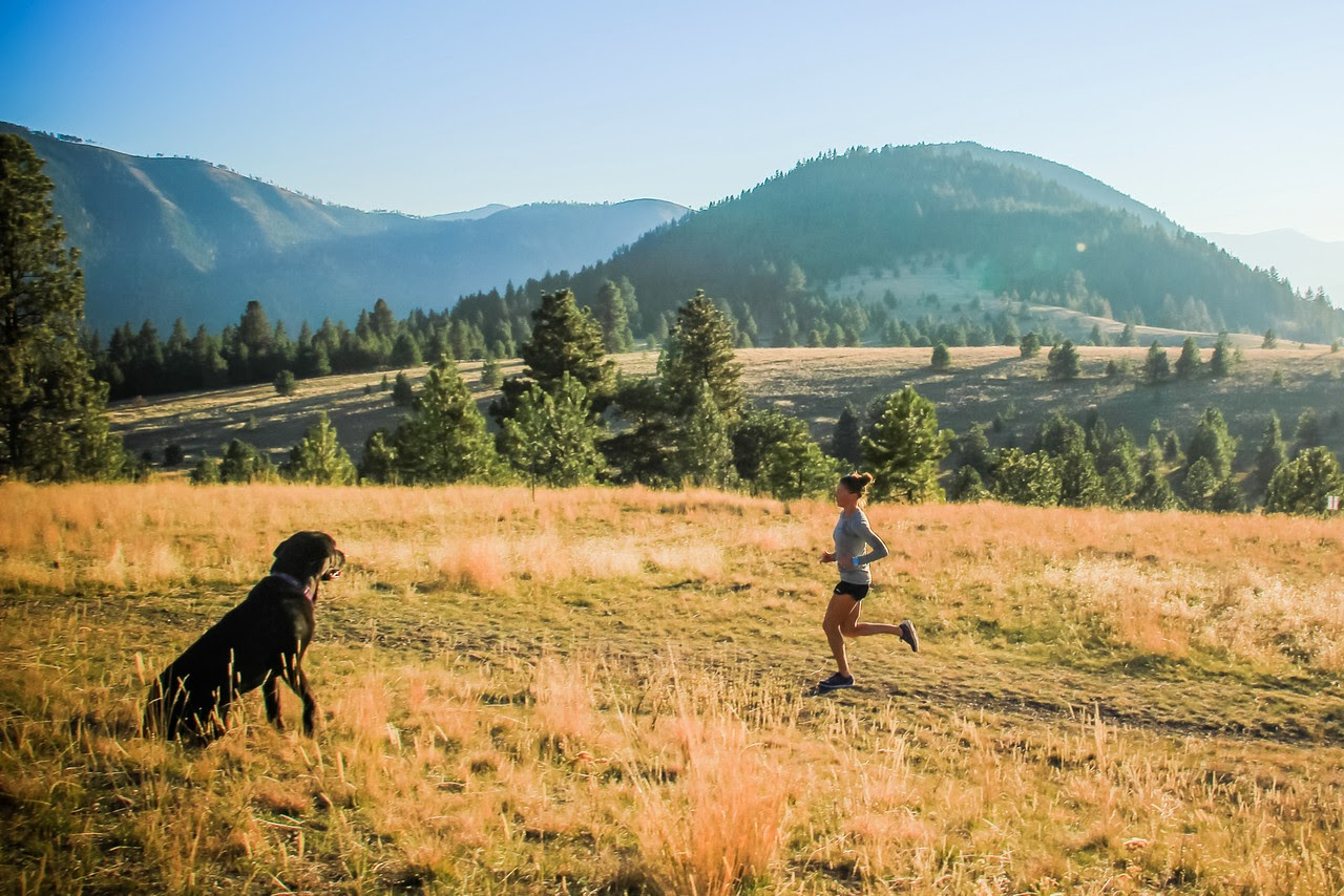 Running in Missoula, MT (Photo by Myke Hermsmeyer)