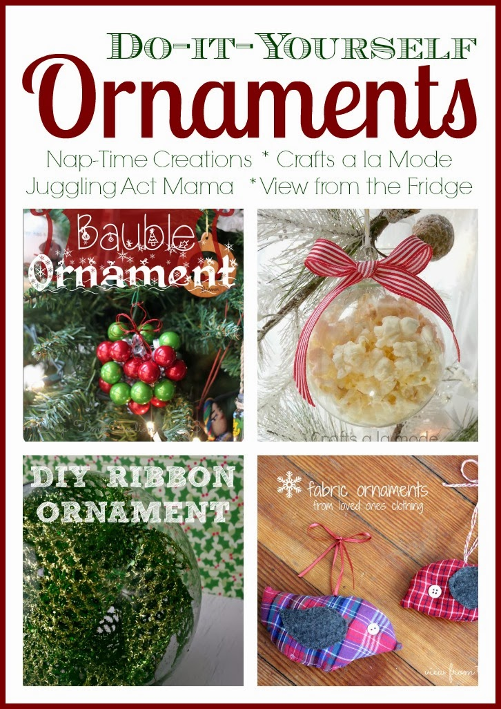 Ornament link party and a michael 39 s craft store giveaway for Michaels crafts christmas ornaments