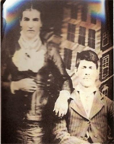 Polly Jane Frazier and Elvis Sturdivant Shiflett  http://jollettetc.blogspot.com