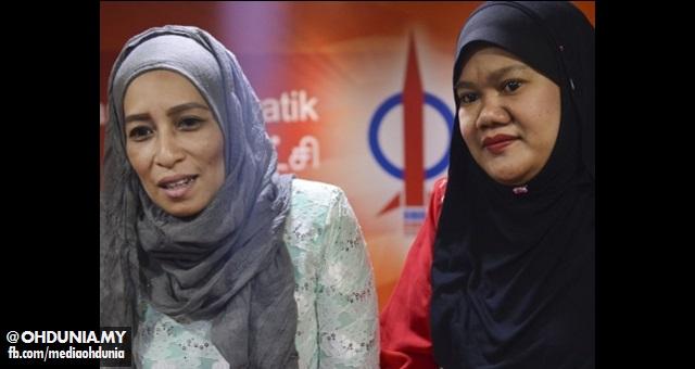 Norazimah & Siti Sapura, Dua Wanita Melayu Terkini Menyertai DAP