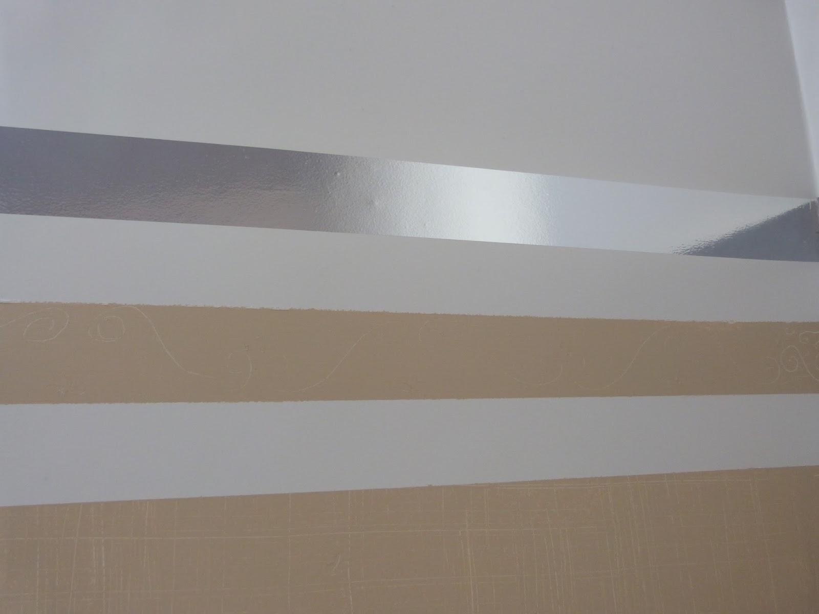 Max f brica de id ias pintura personalizada efeito brin - Pintura metalizada para paredes ...
