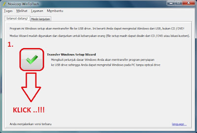 Cara Instal Windows 7 di NoteBook