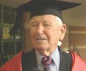 La laurea in Economia e Commercio del nonno