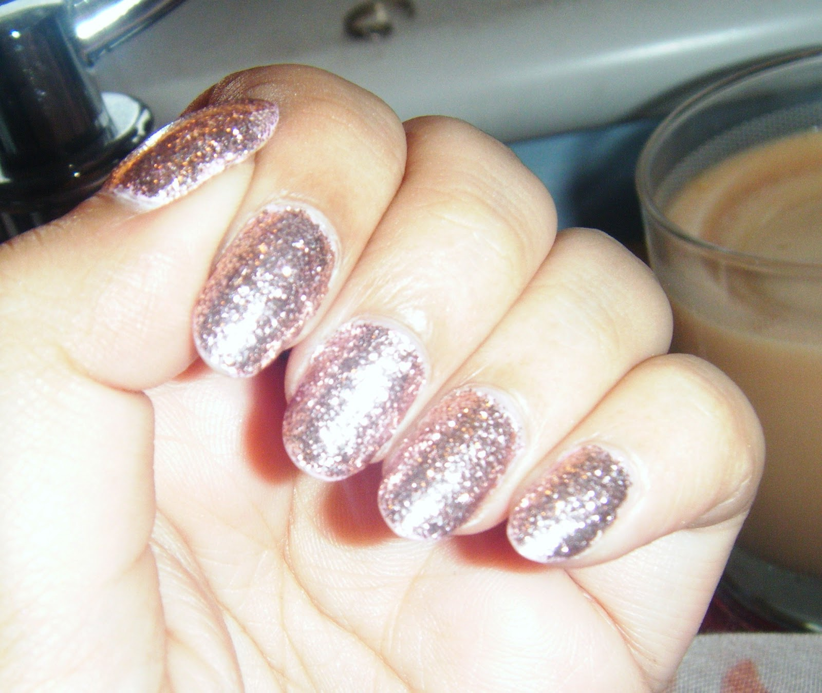 and laugh at guilded butterflies: Nail of the Week | Models Own Pink ...
