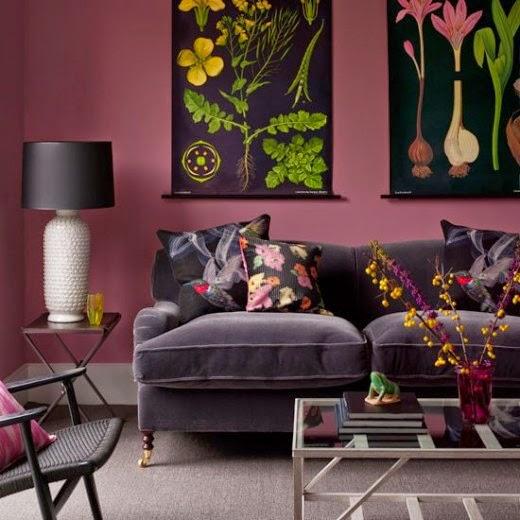 Eye For Design: Decorating With Botanical Prints