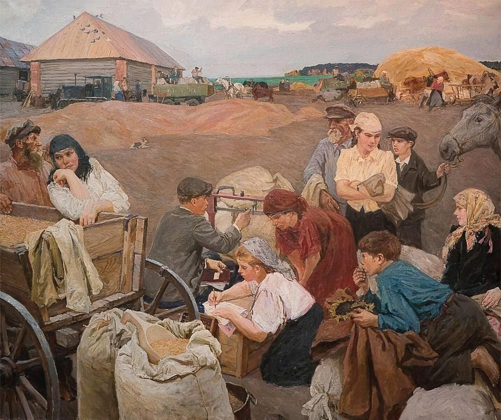 Arkady Plastov Pay day