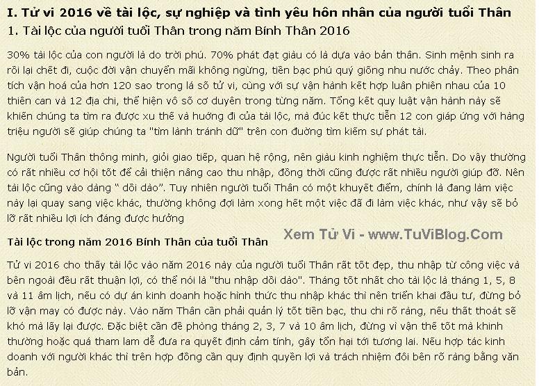 Van Menh Nguoi Tuoi Than Nam 2016