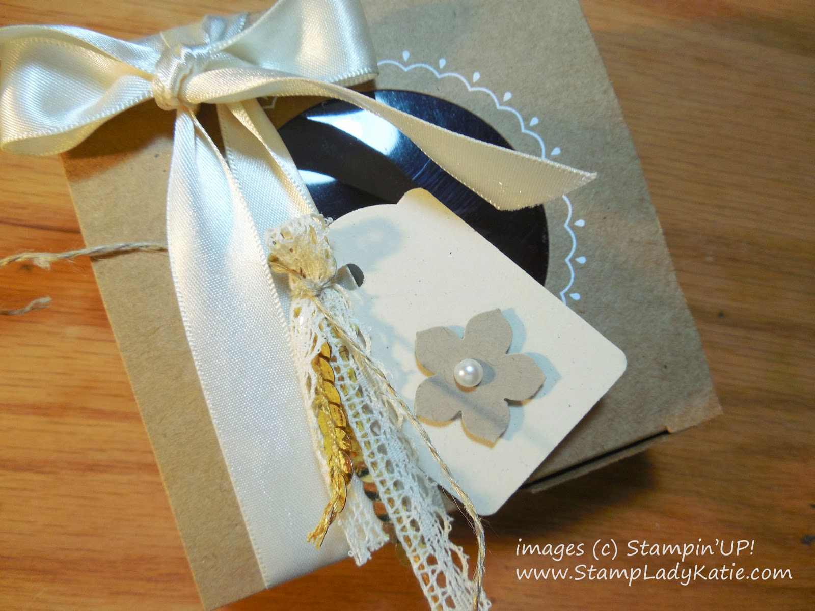 Tag for the Decorative Window Gift Box