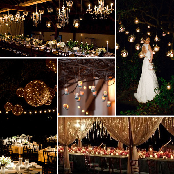 Fairy light hanging ideas fairy light for Asian wedding room decoration