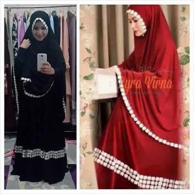Jilbab Syari renda model terbaru 2015