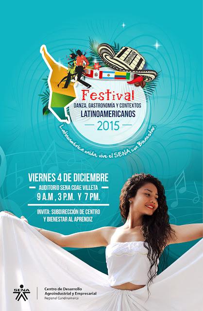 Festival Danza, Gastronomía y Contextos Latinoamericanos 2015