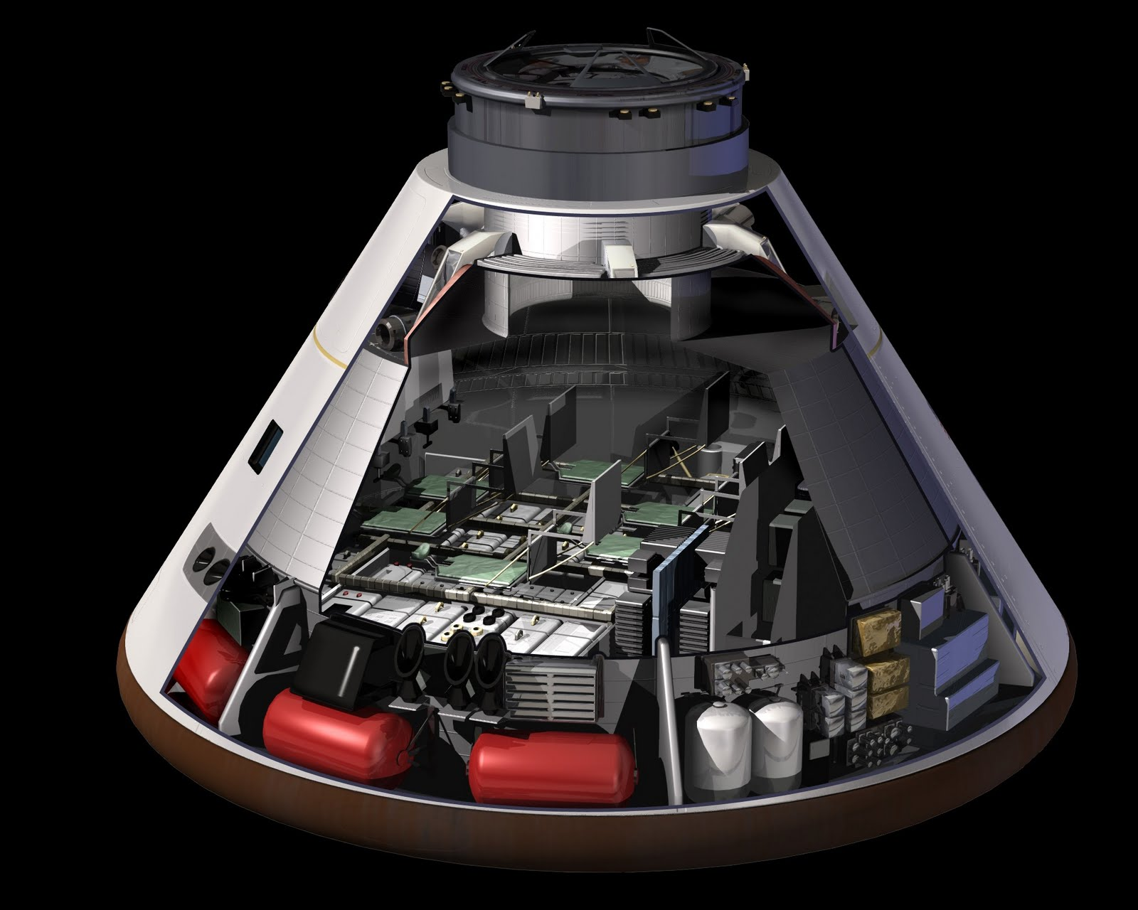 spacecraft cutaway - photo #17