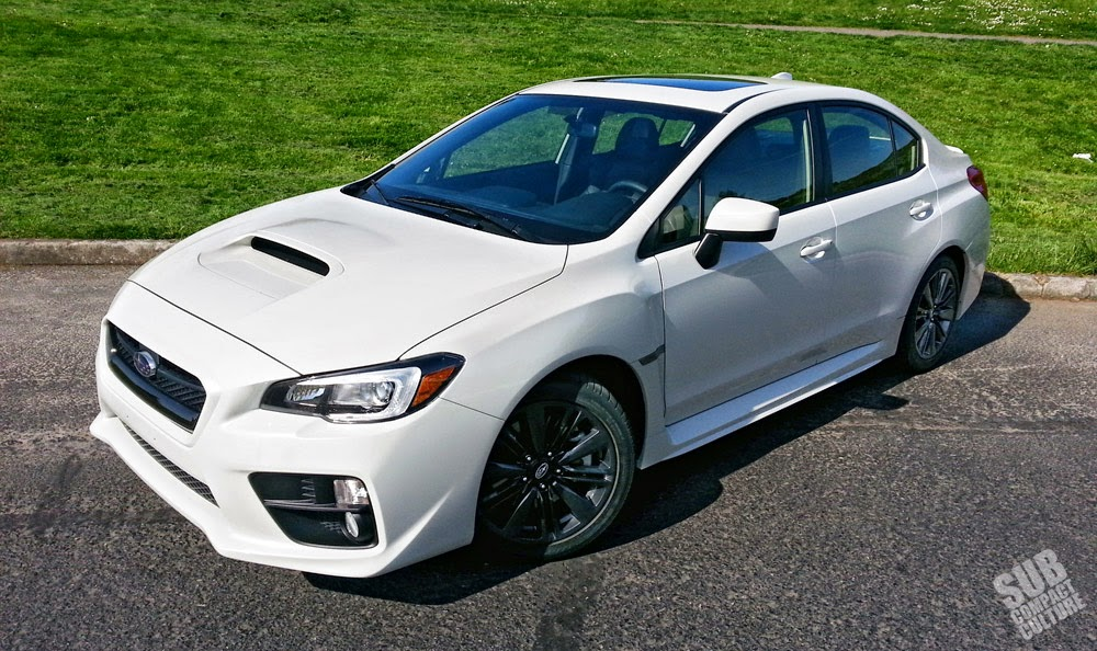 2015 WRX Limited front 3/4