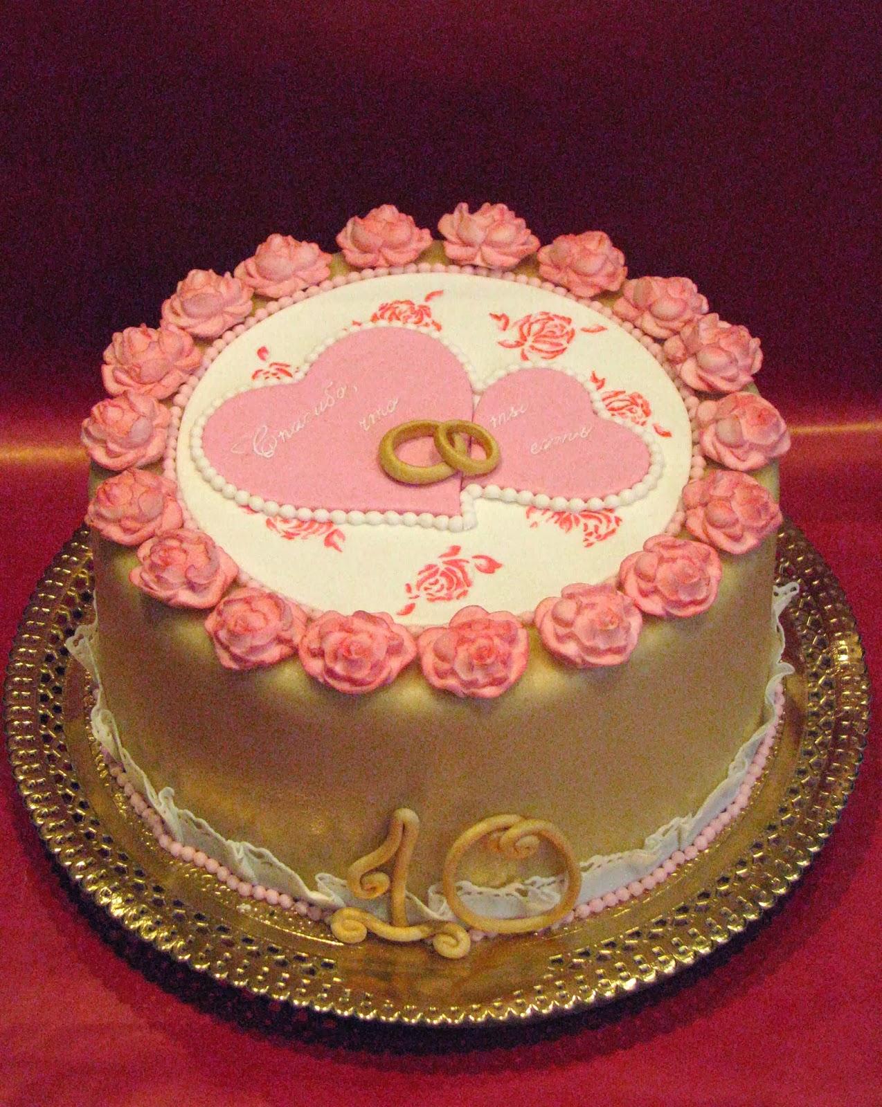 Торт годовщина свадьбы своими руками
