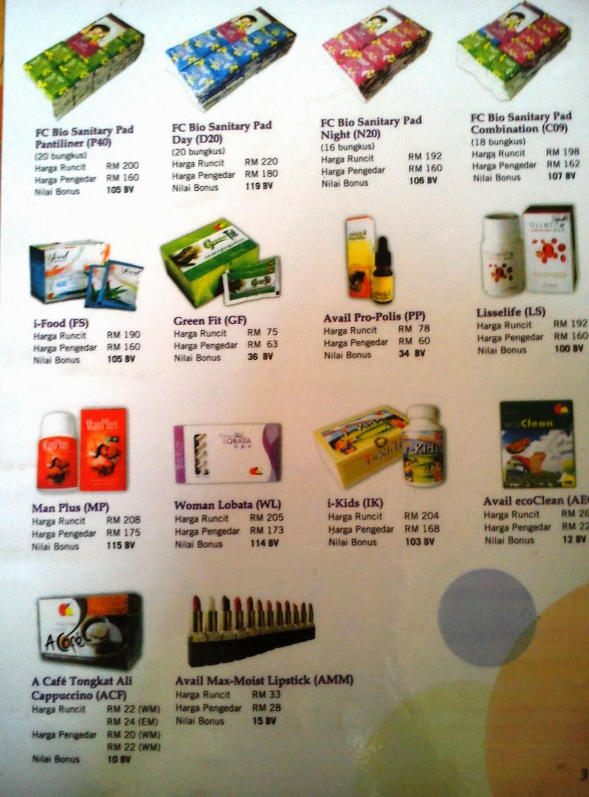 Avail Beauty Pad Berherba Sanitary Pantiliner Anda Boleh Memilih Pakej Yang Saya Telah Sediakan Untuk Mendapatkan Barangan Percuma Atau Mix And Match Mengikut Pilihan Dan Bilangan