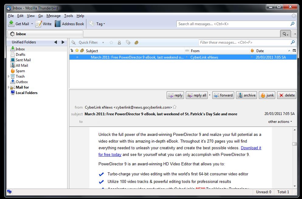 bestes kostenloses email programm