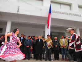 Cueca en inauguración de Gobernación del Punilla - San Carlos