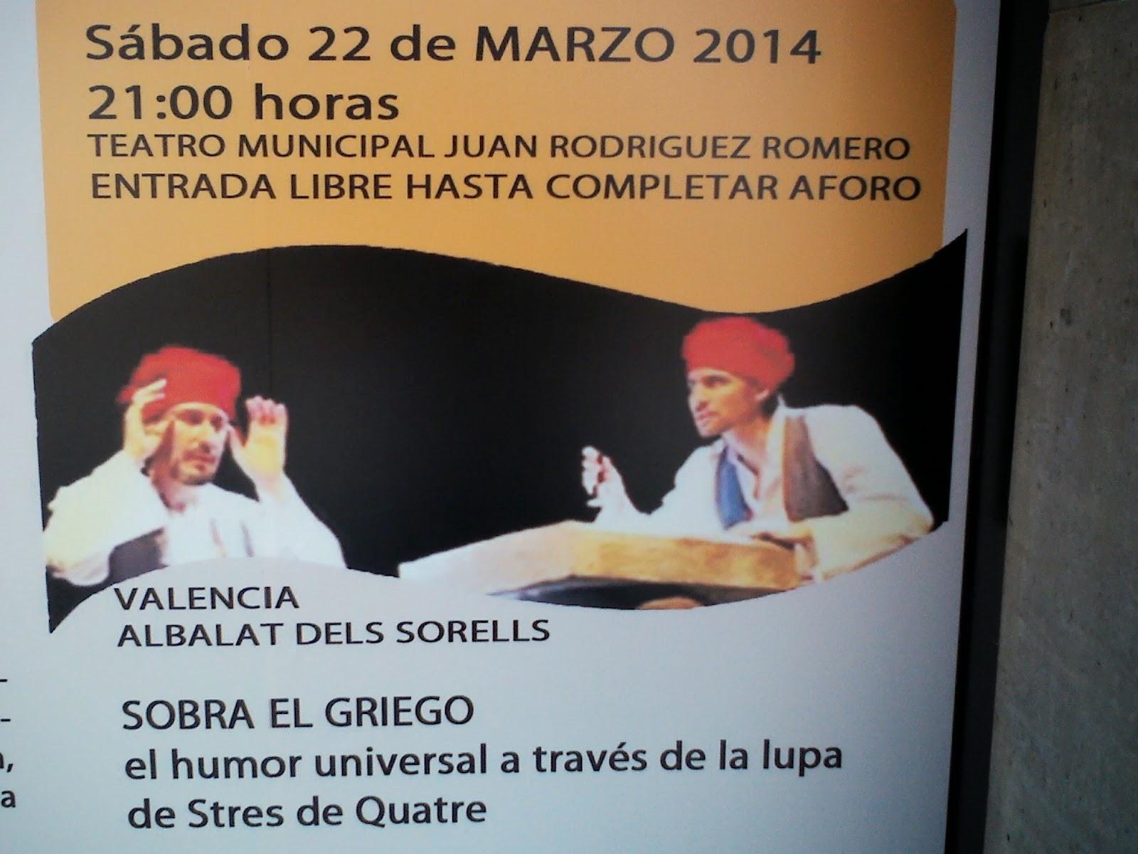 Festival de teatro Dos Hermanas 2014