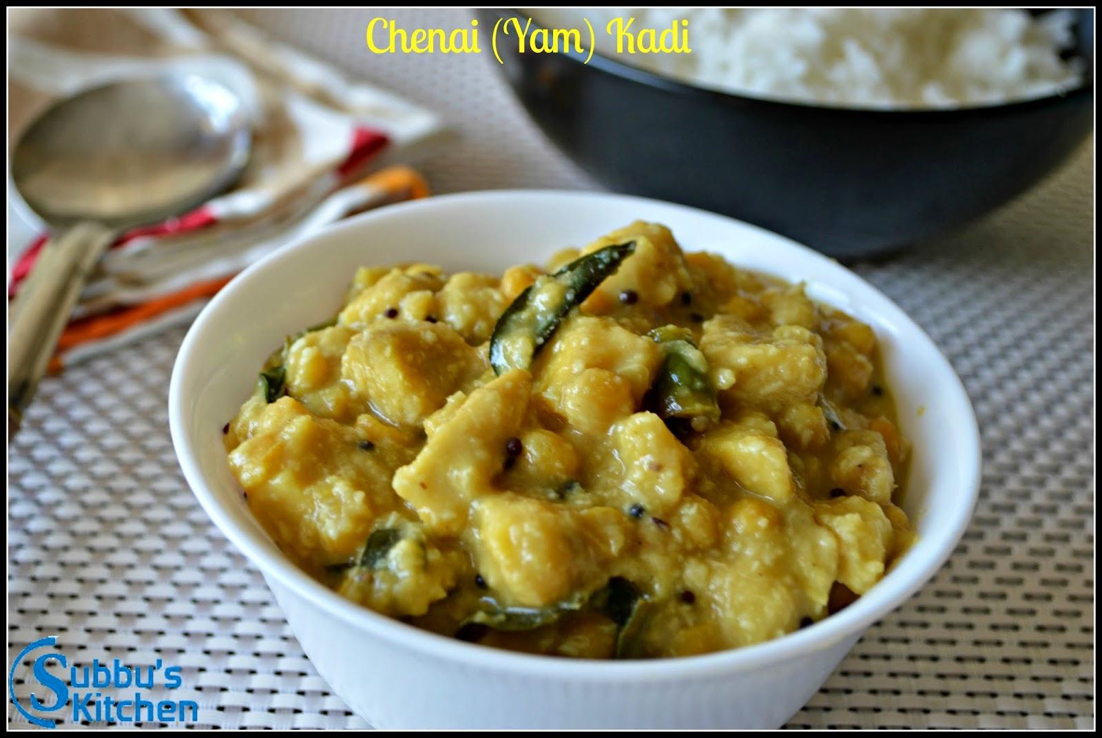 Chenai (Yam) Kadi
