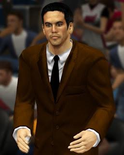 NBA 2K13 Coach Erik Spoelstra Cyber Face Update