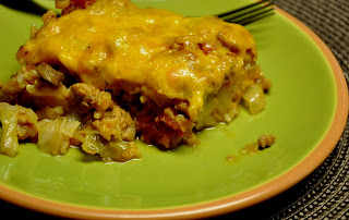 What's Cooking at Richard's ??: UN-Stuffed Cabbage Casserole