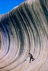 Gran ola de piedra