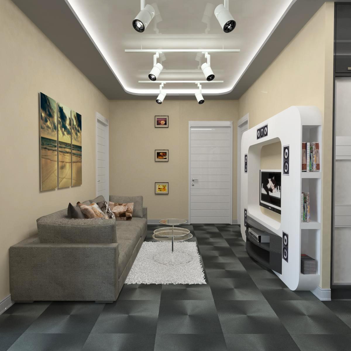Дизайн 2 комнатной