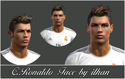 C.Ronaldo Face by ilhan
