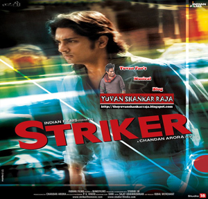 Striker Hindi Movie Album/CD Cover