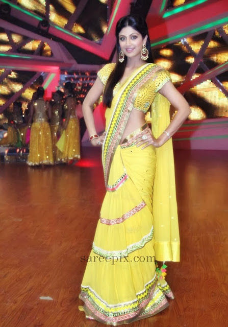 Shilpa-shetty-saree-Nach-baliye-6-sets