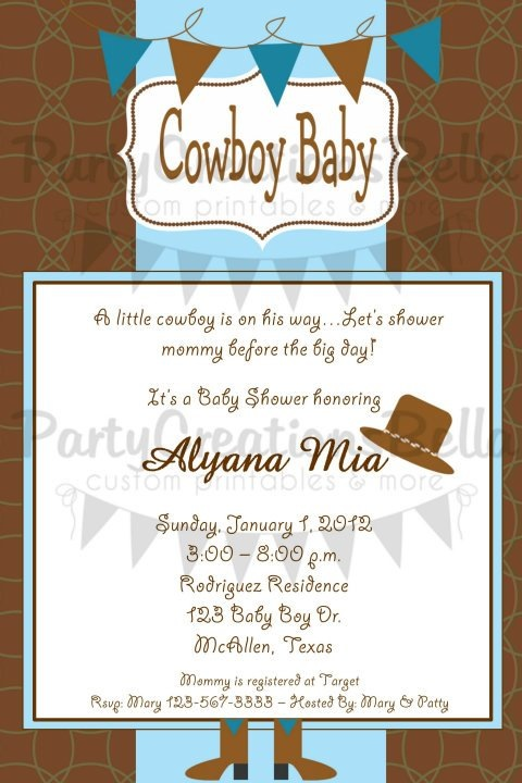 sweet mady feature cowboy baby shower