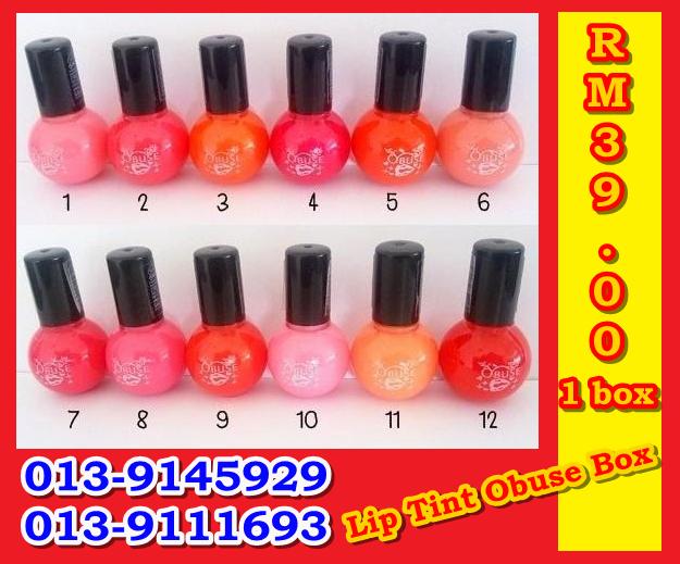 Lip Tint Obuse Box