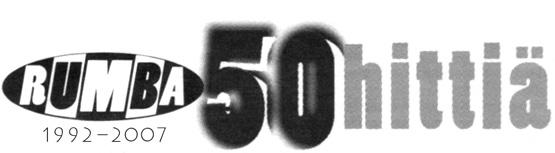 Rumban 50 hittiä -listat 1992–2007
