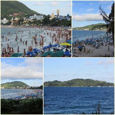 Santa Catarina, Bombinhas, praia