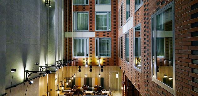Klimatyczne wnętrze w stylu hotelu Puro