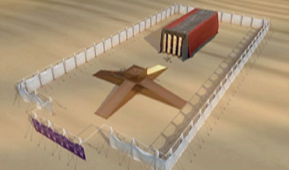 The word works god lives in us ii for Building the tabernacle craft