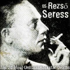 Top 20 Most Unusual Rockstar Deaths: 05. Rezső Seress