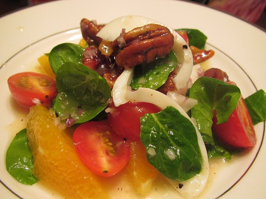 Easy Pecan Salad