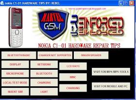 UNIQUE TECHNOLOGIES: NOKia C1_01 All Hardware Solution ...