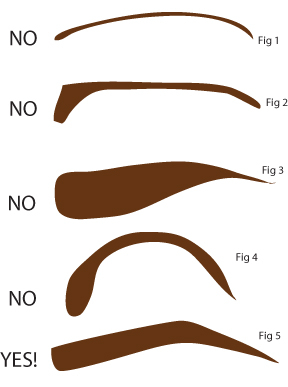 how to fix tadpole eyebrows