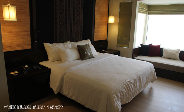 Novotel Lombok - The room